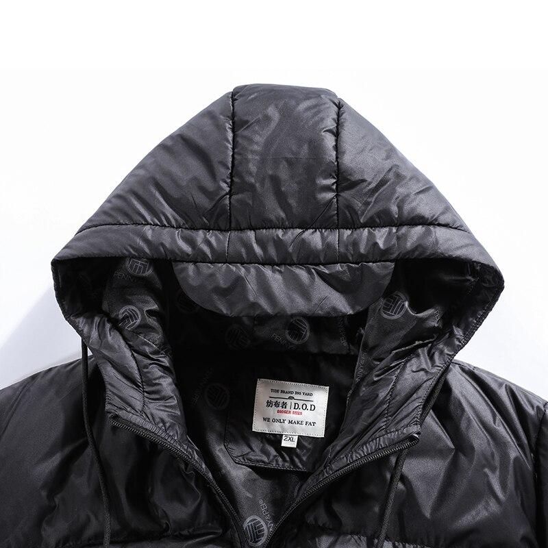 Winter Coat Men 90% White Duck Down Jacket Korean Fashion Plus Size Puffer Jacket Men Warm Parka Casaco Y7010 YY1345
