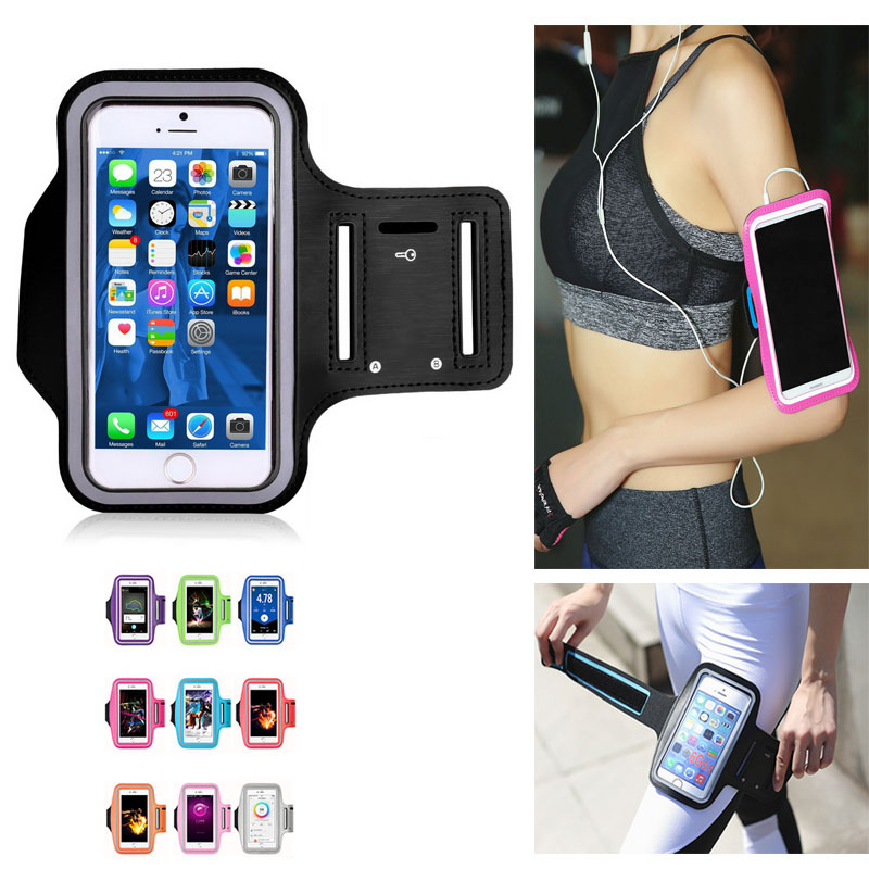 Phone-Case Armbands Running-Bags Sports-Accessories Touch-Screen Women for 4-5.7inch