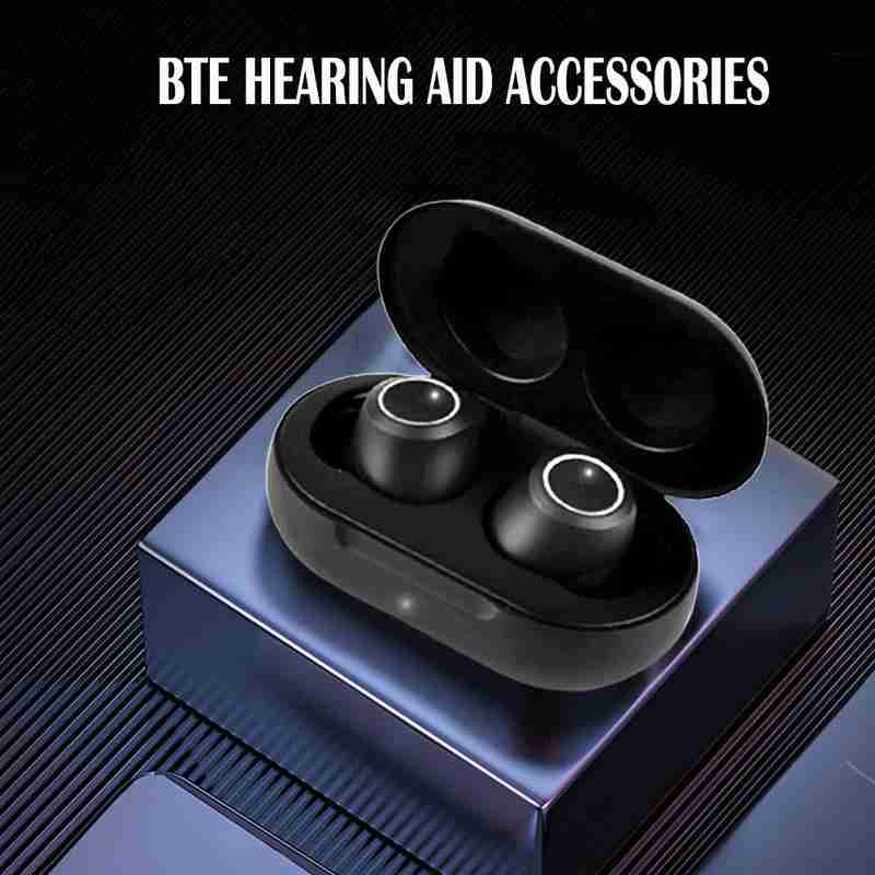 1 Pair Hearing Aid Usb Rechargeable Mini In Ear Invisible Hearing Aids Deaf Elderly Assistant Supplies Amplifier Sound Device