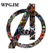 NEW A3 Marvel Graffiti Stickers Super Hero High Quality Waterproof PVC For Luggage Laptop Motorcycle