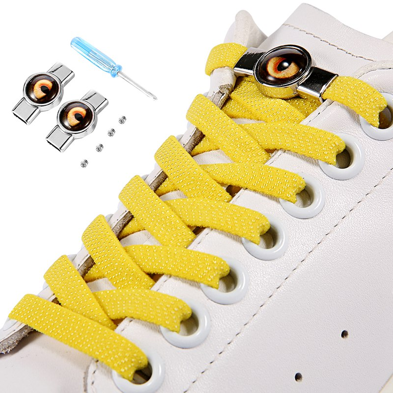 Adult Sneakers Shoelace No Tie Shoelaces Elastic Shoe Laces Quick Lazy Laces