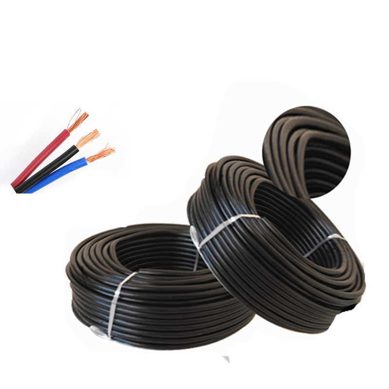 10M 3pin waterproof electrical cable,18 <font><b>AWG</b></font> extend PVC led <font><b>wire</b></font> 0.75/2 image