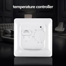 Elektrische Temperatur Controller Temperaturregler Erweiterte Intelligente Micro-verarbeitung Chip Relais Heizung Warme Boden Kabel