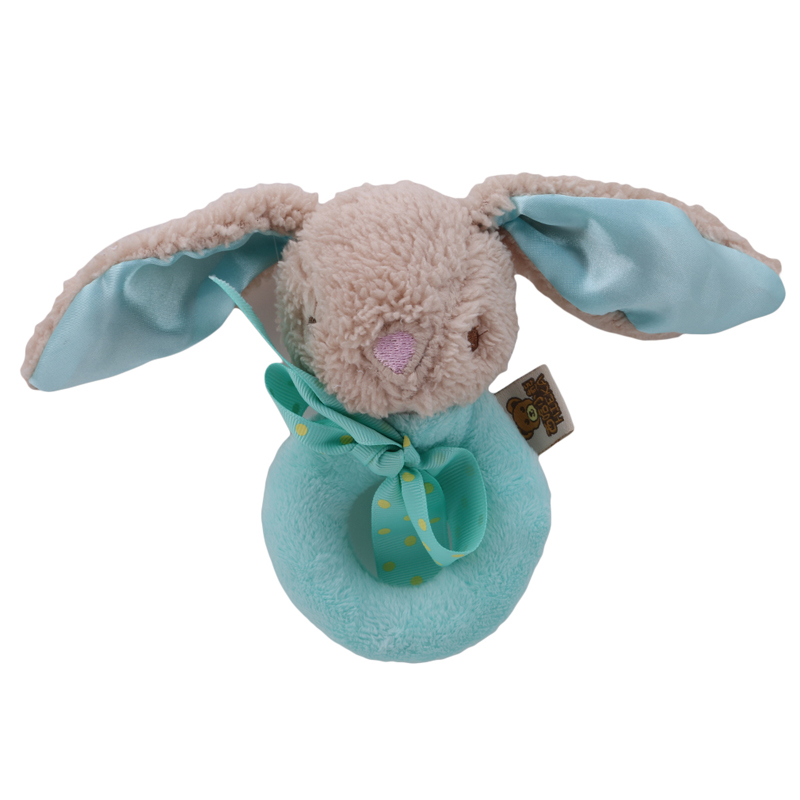 Cute Plush Baby Toy Animal Hand Bells Baby Toys Baby Rattle Ring Bell Toy Newborn Infant Early Educational Doll Gifts Brinquedos