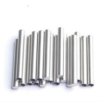 1000 pieces ID 6mm OD 7mm SS304 One End Round head Closed Stainless Steel Thermowell Thermocouple Protection pipe L65mm