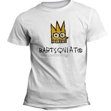T-Shirt Homme et Femme, haut en coton, humoristique, Jean-michelle Basquiat, Warhol, K.H.Writer, Art De Rue 002