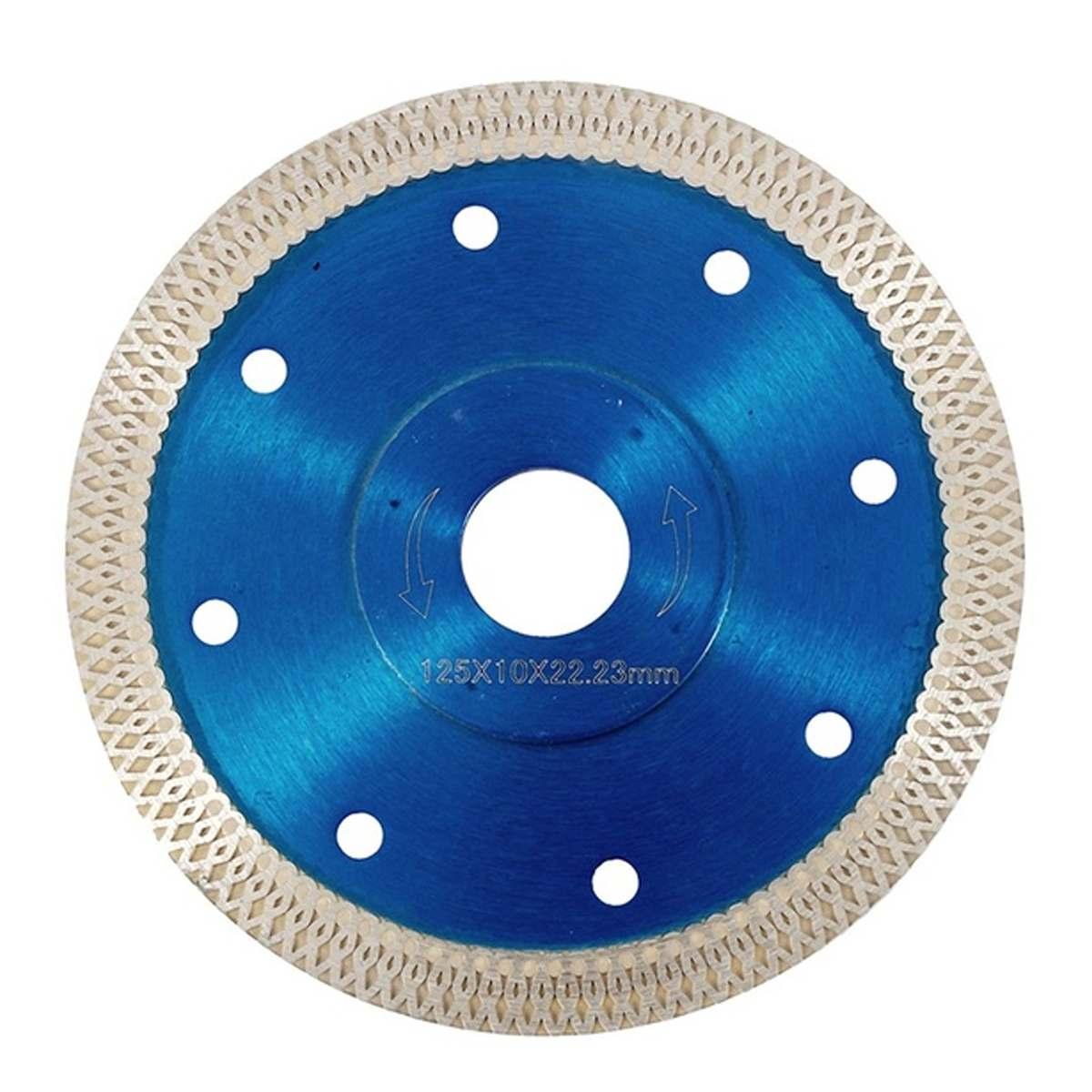 105/115/125mm ultra fino diamante viu lâmina disco telha de porcelana cerâmica lâminas de corte de mármore para ângulo moedor de pedra lâmina de serra