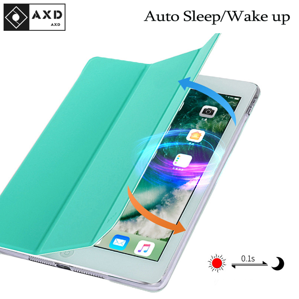 For IPad Air 1 9.7 Inch 2013 A1474 A1475 A1476 Case Auto Sleep/Wake Up Flip PU Leather Cover Smart Stand Holder Folio Case