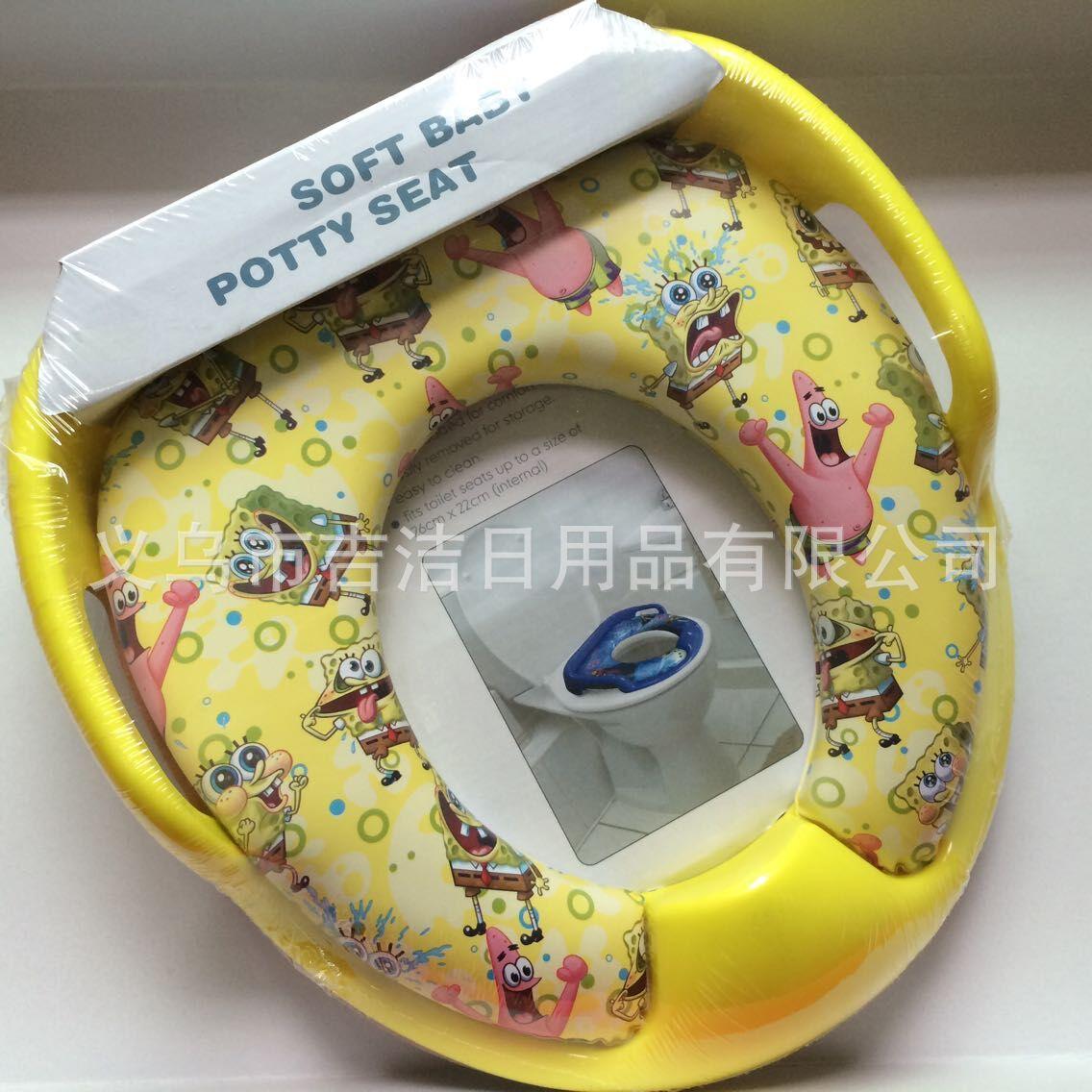 Mom's World Baby Toilet CHILDREN'S Toilet Seat Infants Toilet Soft Chamber Pot Washer