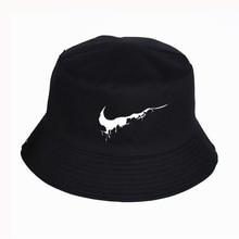 Fashion four seasons hat Character pattern Print Panama Bucket Hat High Quality Summer Sport