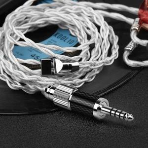 Image 5 - Typ C XLR 2,5 3,5 4,4 6,35mm HiFi Kopfhörer Kabel Stecker 8 In 1 Multi Funktion Adapter rhodium Kupfer Self Locking Stecker DIY