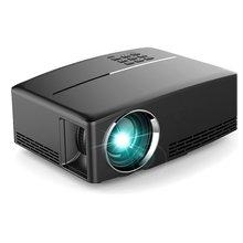GP80UP LED Projector Full HD 1080P Mini Projector Home Media Player 1800 LM Portable Multimedia Home Cinema Theater Video Movie symrun for iphone 5 6s plus ipad mp3 4 video home cinema tv pc vs311 digital mini led projector full hd multimedia 1080p lcd