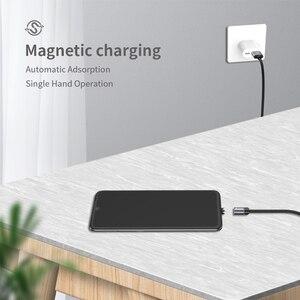 Image 5 - Wsken كابل USB مغناطيسي شحن USB C نوع C كابل آيفون المغناطيس شاحن تهمة مايكرو كابل لسامسونج الهاتف المحمول الحبل