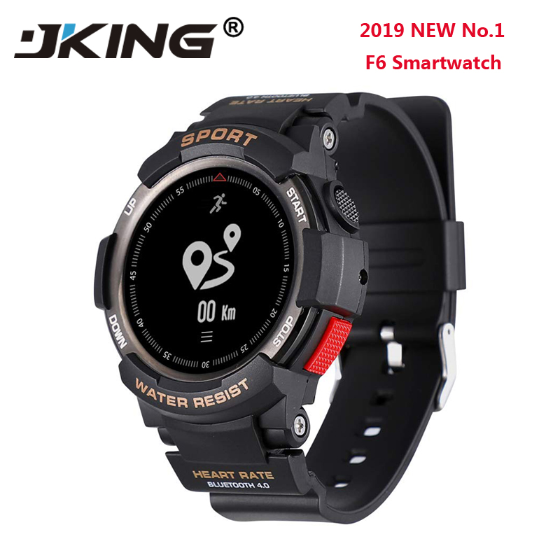 2019 NEUE No. 1 F6 Smartwatch <font><b>IP68</b></font> Wasserdichte Bluetooth 4,0 Dynamische Herz Rate Monitor Smart uhr Für Android Apple Smart telefon image