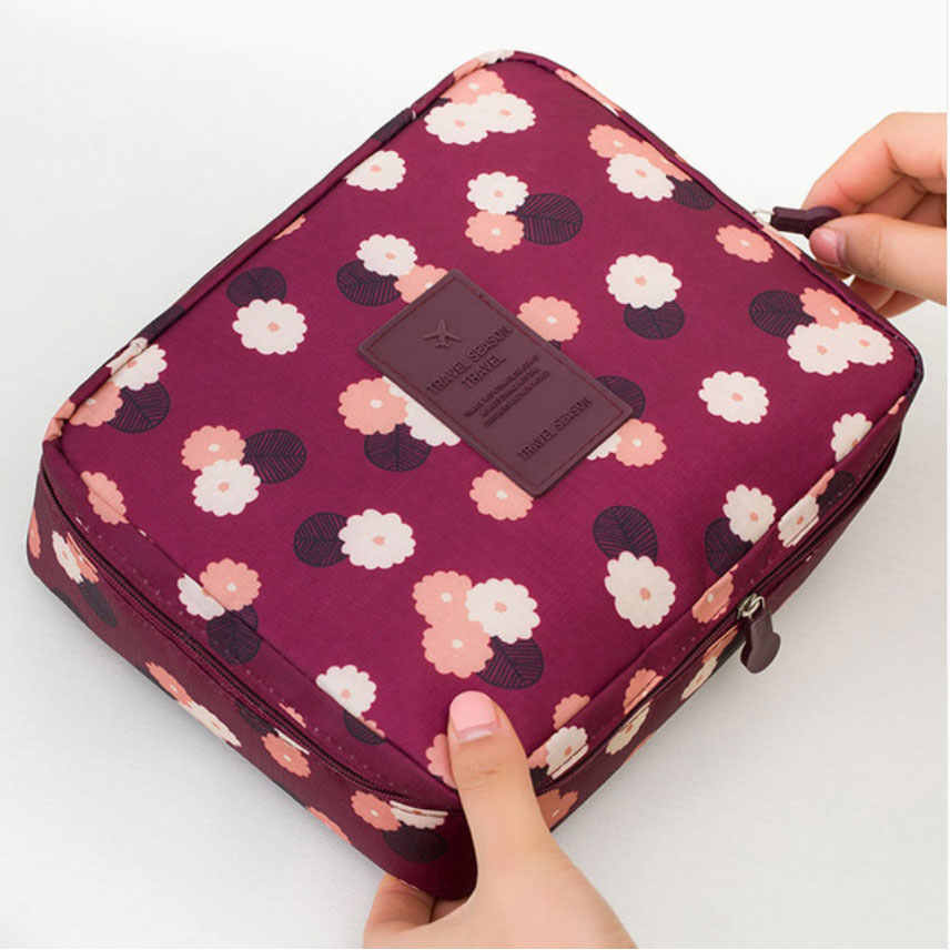 Maximum supplier Travel Cosmetic Makeup Bag Toiletry Case Hanging Pouch Wash Organizer Storage
