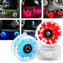 Skate-Wheels Roller Skating Sliding with Bearing Magnetic-Core Replacements 8pcs Wear-Resistant
