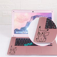 Leuke Pikachu Anime Laptop Sticker Oppervlak Laptop Skin Decal(China)