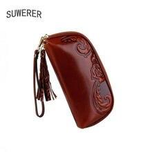 Suwerer новые сумки из натуральной яловой кожи женская сумка