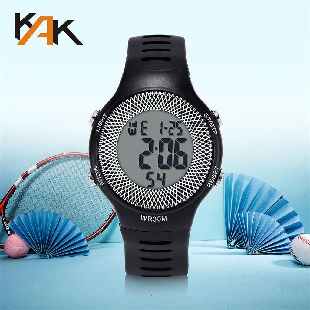Hot Solid Color Waterproof Electronic Watch Ladies Watch Women  Quartz Wristwatch  Round Clock Gift Belt  Zegarek Damski #W