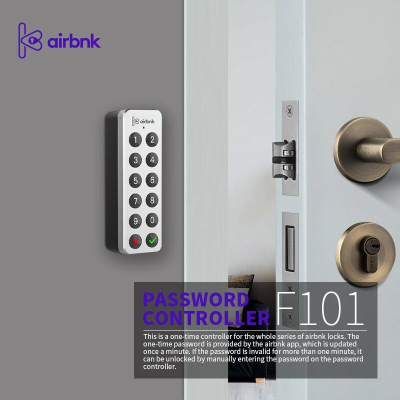 Airbnk F101 Password Pad Digital Electronic Password Keypad Password Recognition Device Door Access For M500 M300 Smart Lock