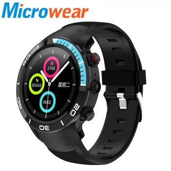 4G H8 GPS Smart Watch IP68 waterproof Android 7.1 support Nano SIM Smart Phone 1GB/RAM 16GB/ROM Heart Rate Monitor Smartwatch