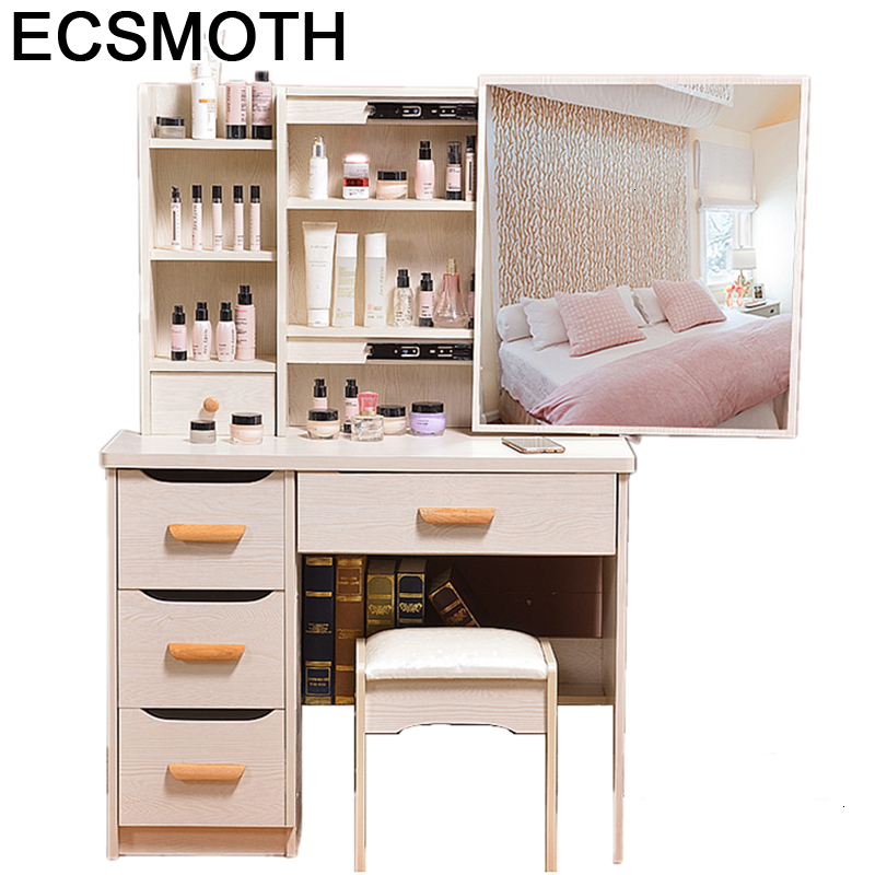 Dresuar De Maquiagem Comoda Para Camera Da Letto Dressing Slaapkamer Penteadeira Quarto Bedroom Furniture Korean Dresser