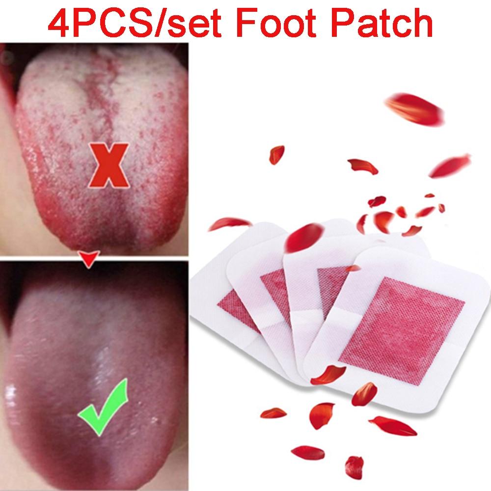4pcs Foot Patch Health Care Improve Sleeping Herbal Detoxify Toxins Adhesive Foot Paste Sleep Slimming Foot Sticker Detox Pads