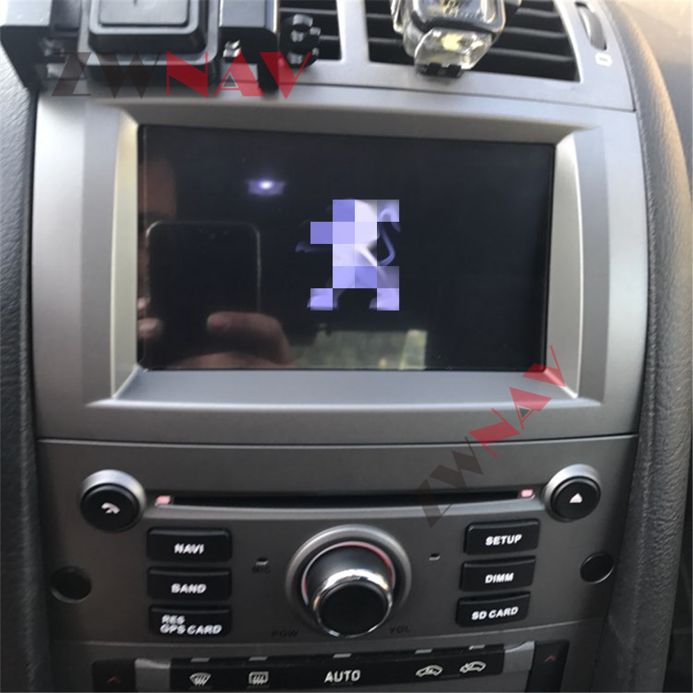 Android 9.0 PX6 8 Core 4+64G DSP 2 Din Car GPS Navigation Radio Screen Android System For Peugeot 407 2004 2005 2006 2007 - 2010