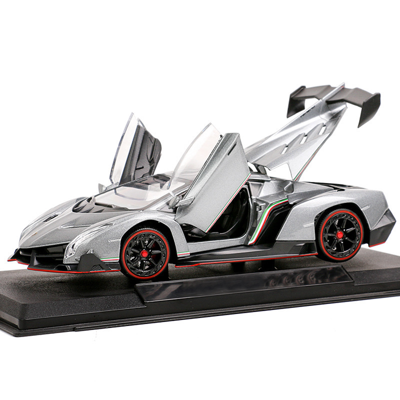 JIAYE Hot Sale 1:24 Sports Car Luxury Alloy Car Model Simulation Car Decoration Collection Gift Toy Die Casting Model For Kid