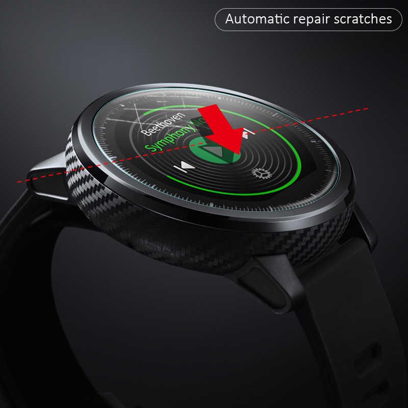 5/3/1 piezas Protector de pantalla completa reloj inteligente para Xiaomi Huami Amazfit Stratos 2s ritmo Bip cubierta de película suave Band 2 Verge GTR 3