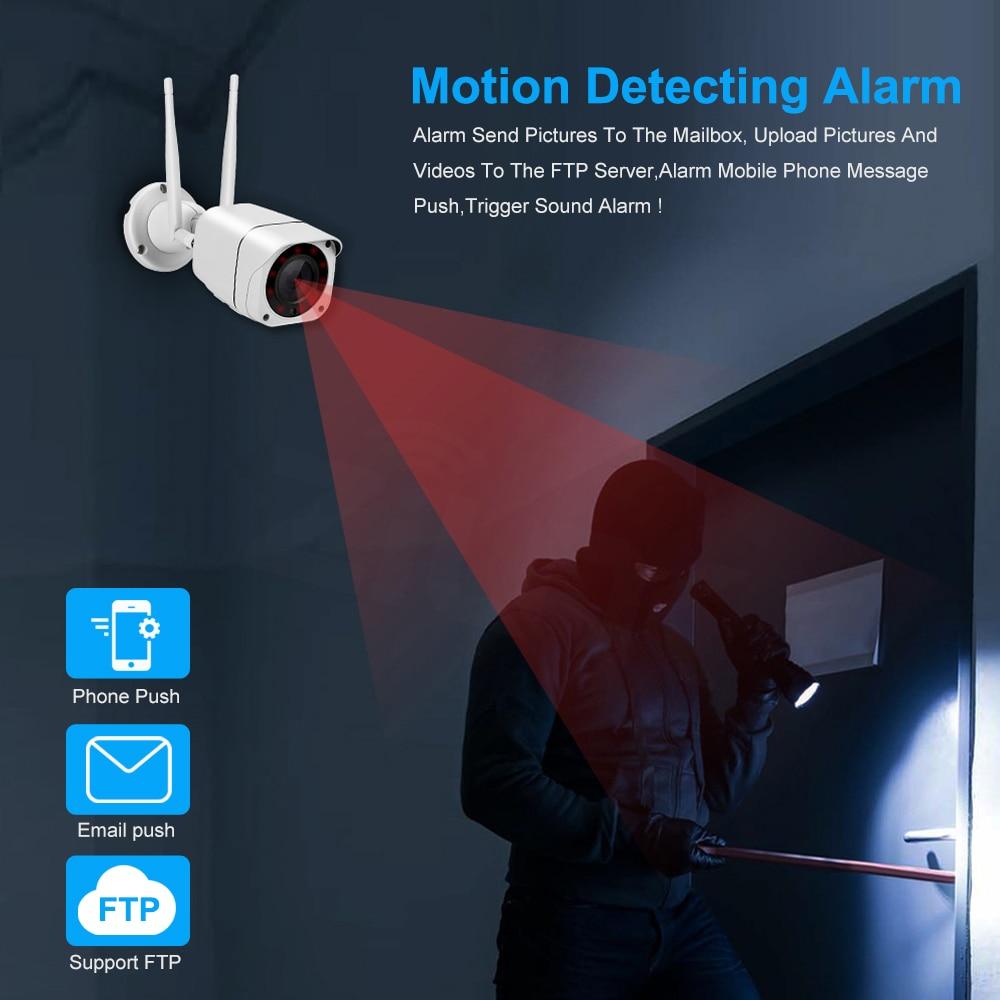 ZILNK 4G SIM Card IP Camera 1080P 5MP HD Wireless WIFI Outdoor Security Bullet Camera CCTV Metal P2P Onvif Two Way Audio Camhi