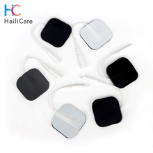 50pcs/100pcs 4*4/5*5 cm Self Adhesive Replacement Tens Electrode Pads Square Muscle Stimulator Electric Digital Machine Massager
