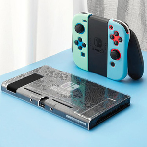 Image 5 - สีสันสดใสเต็มรูปแบบคริสตัลสำหรับ Nintendo SWITCH NS คอนโซล Joy CON Controller ป้องกันฟิล์มสติกเกอร์ผิวกรณี