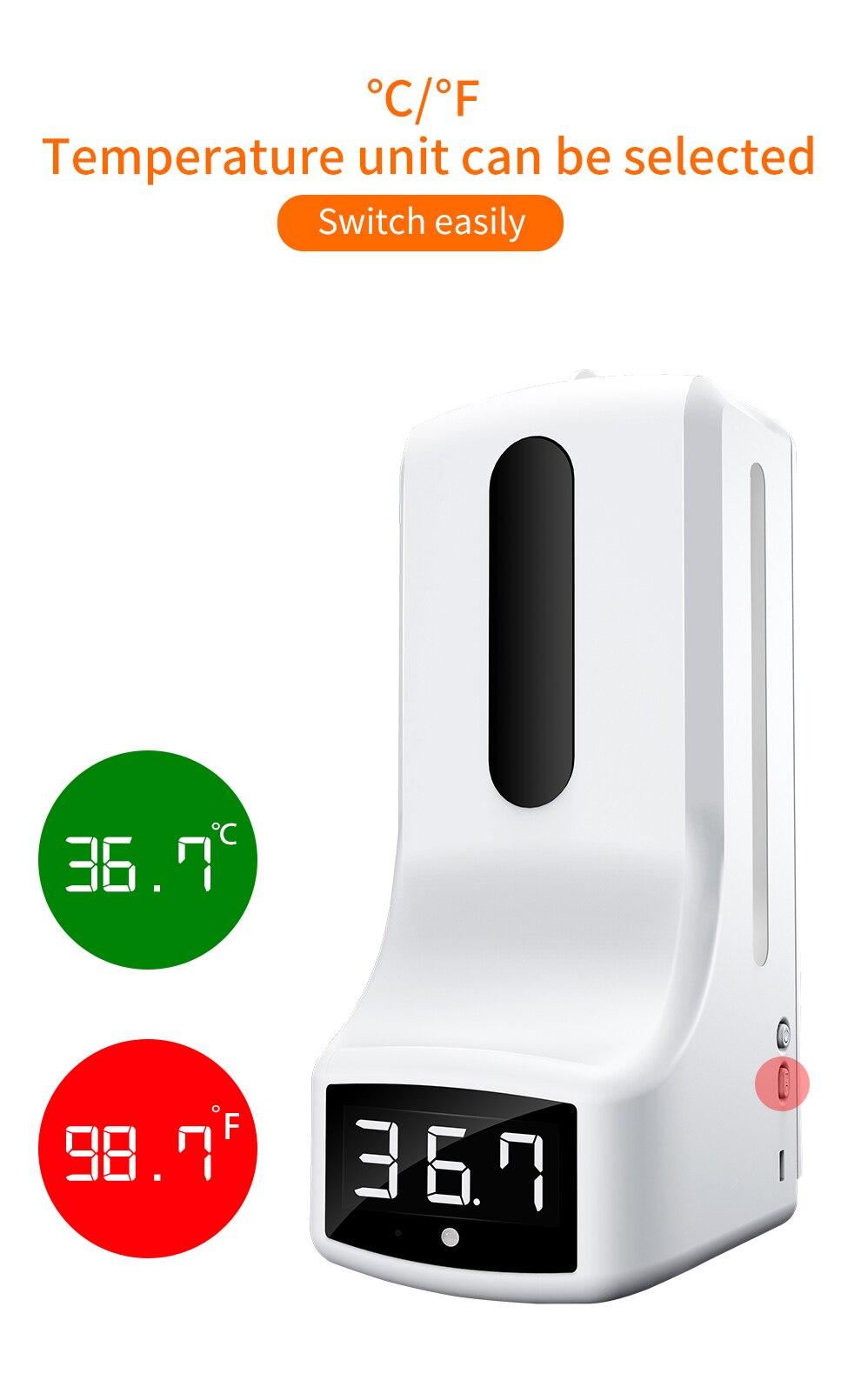 Novo k9 pro automático dispensador de sabão