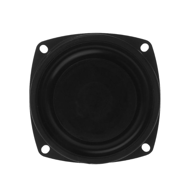 "2PCS Woofer Radiator Bass Passive Speaker 3"" Low Frequency Loudspeaker Diaphragm Vibration Plate DIY 10166"