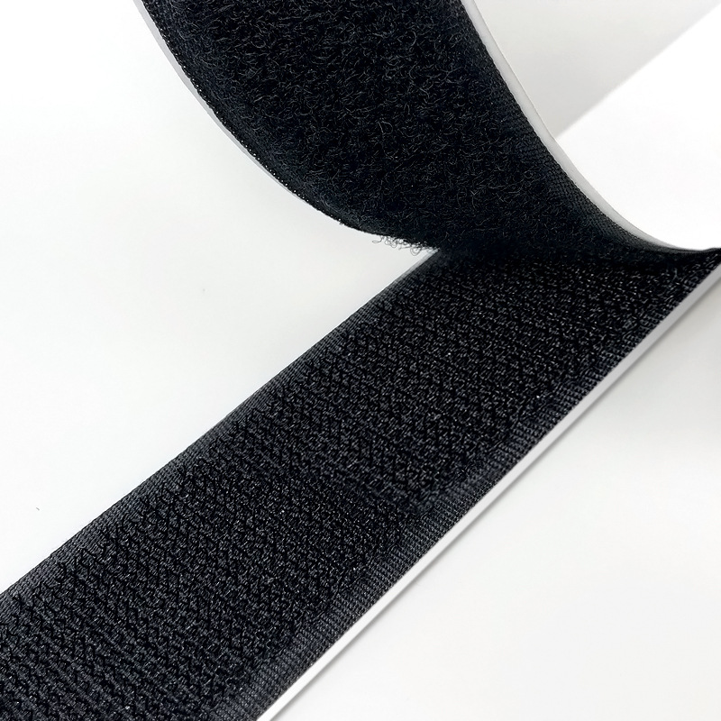 Velcro Hook and Loop brand sew on fastening tape for fabric in white 30mm wide