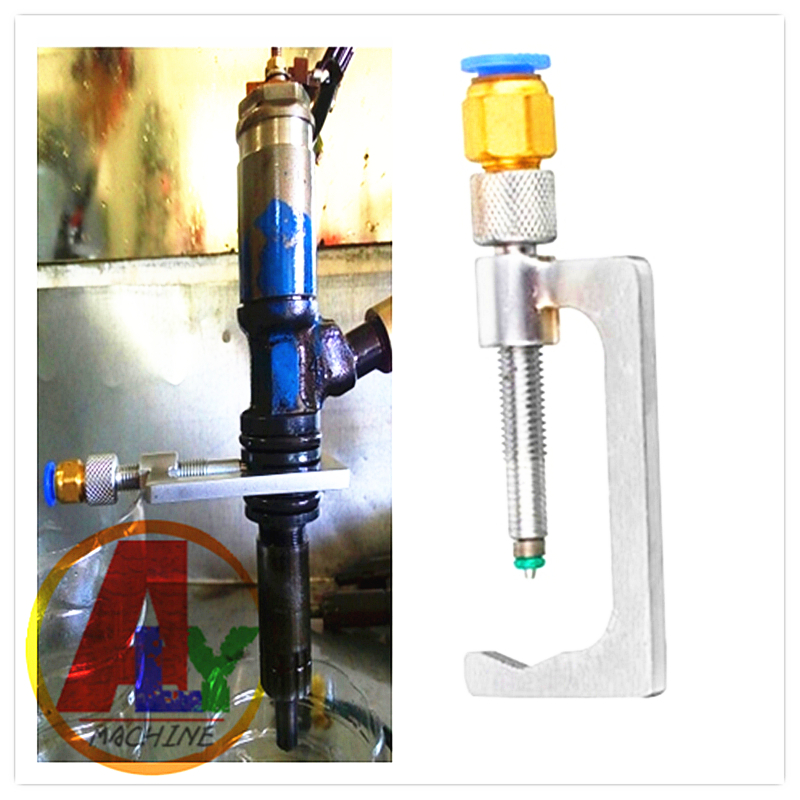 Simple Type Diesel Return Clamp Fixture Tool For Common Rail Injector