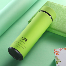 500ML Thermos Bottle Stainless Steel Tumbler Insulated Water Bottle Portable Vacuum Flask for Coffee Mug Travel Cup Office Busi thermos bottle 350 ml coffee mug stainless steel creative cute rabbit bear outdoor school office travel mugs thermos bottle mug