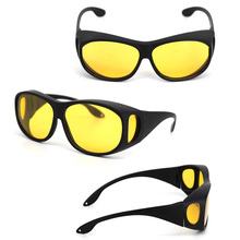 Sunglasses Safety Eye-Protection Yellow-Lens Night-Driving Anti-Glare with Outdoor Polarized