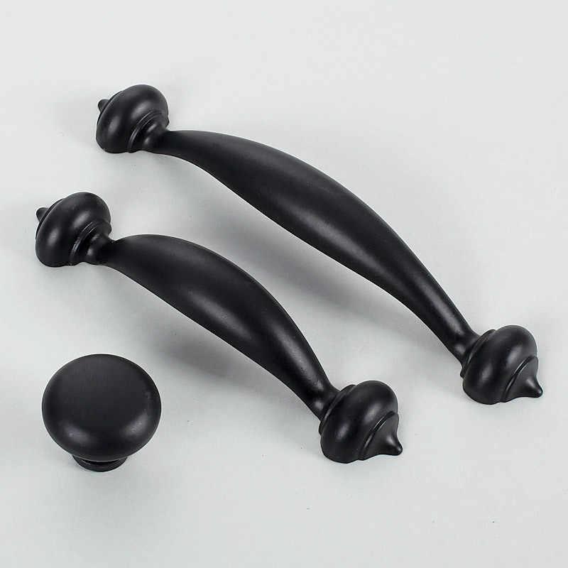 Kapı Kolları Avrupa tipi Akdeniz çekmece sallamak handshandle çağdaş ve sözleşmeli Amerikan tarzı alt siyah ayakkabı bir