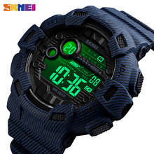 SKMEI Fashion Outdoor Sport Watch Men Alarm Clock 5Bar Waterproof Week Display Watches Digital Watch relogio masculino 1472