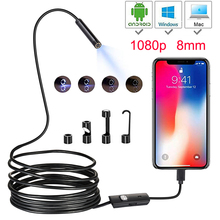 1080P Full HD Mini Android Camera Endoscope IP67 1920*1080  2m 5m Micro USB Inspection Video Camera Snake Borescope Tube 1920 1080 2mp 30fps h 264 hd 1 3 cmos ar0330 5 50mm manual zoom varifocal high speed mini usb camera endoscope android
