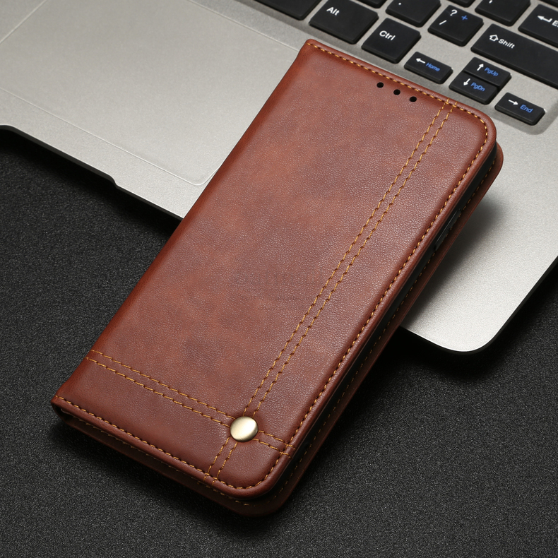H3e9ac7e6ae794a349497eea803b49bffF Luxury Retro Slim Leather Flip Cover For Xiaomi Redmi Note 8 / 8T / 8 Pro Case Wallet Card Stand Magnetic Book Cover Phone Case