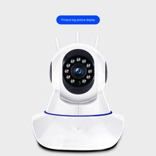 Wireless Camera Wifi Remote Monitor Mobile Phone Monitoring Intelligent Network Hd Camera 360 Degree Rotation wifi wireless network hd head cloud monitoring smart camera phone remote broadcast