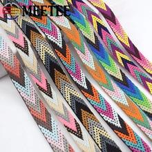 2Meters Polyester Jacquard Webbings 22mm Backpack Pet Strap Webbing Label Ribbon Sewing Tape Bias Binding Clothing Accessories