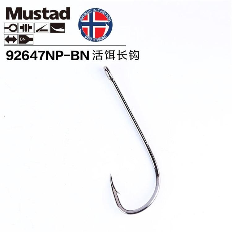 new-20-packs-lot-mustad-hooks-92647-bn-live-bait-casting-font-b-fishing-b-font-high-carbon-steel-barbed-hooks-long-double-backstab-hooks