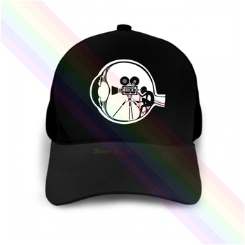 Cinematography Record Motion Pictures 2020 Newest Black Popular Baseball Cap Hats Unisex image