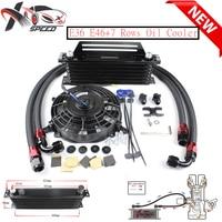 E36 E46 E90 oil adapter 7 row oil cooler engine radiator For BM W M3 325 328 335 oil filter adapter