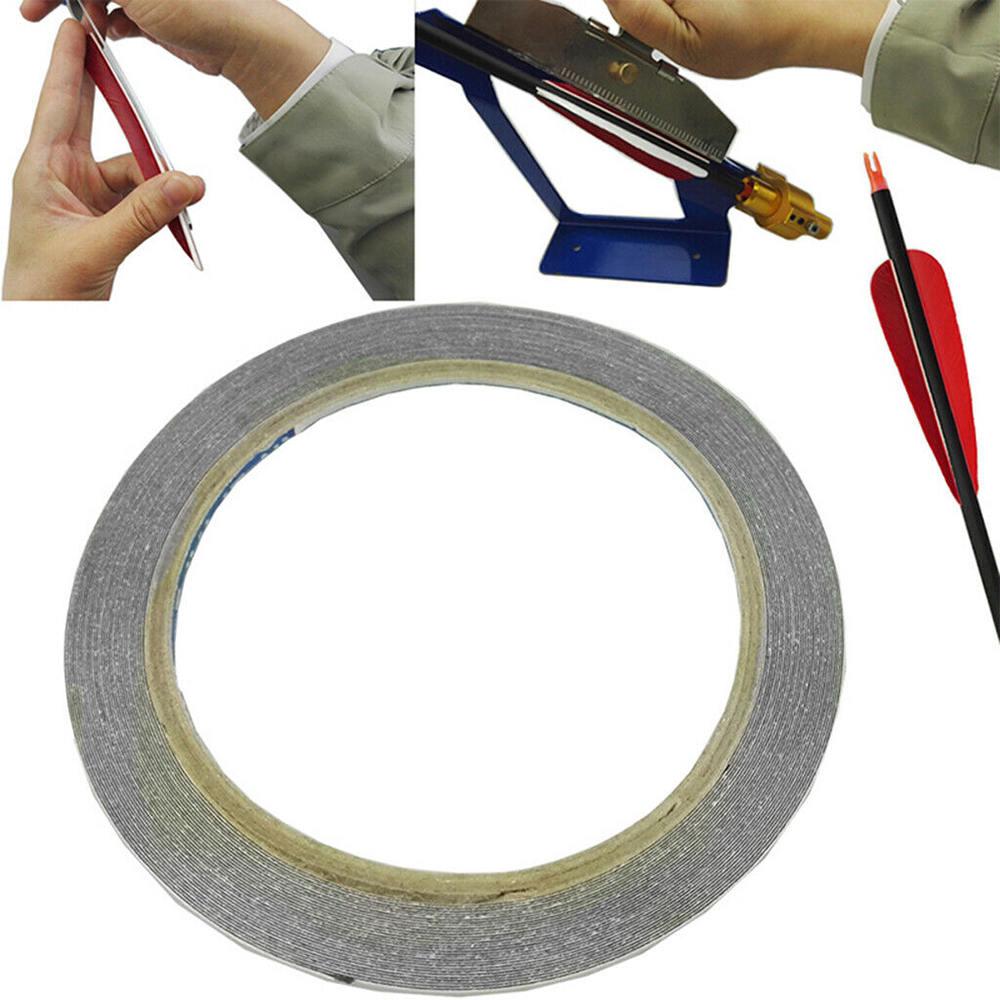 Adhesive Feather Fletching Tape Glue Archery Fletches Arrow DIY Tool