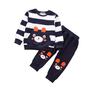 2018 new spring children girls clothing sets mouse early autumn clothes bow tops t shirt leggings pants baby kids 2 pcs suit New Spring Autumn Children Fashion Clothes Baby Boy Girls Cartoon T Shirt Pants 2Pcs/sets Kids Infant Clothing Toddler Tracksuit